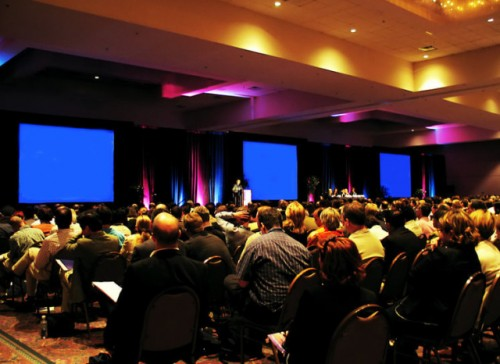 Looping PowerPoint Ad - Annual Conference