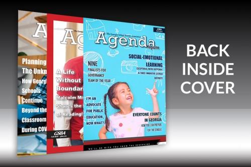 Agenda Magazine - Back Inside Cover