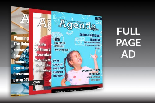 Agenda Magazine - Full Page Ad