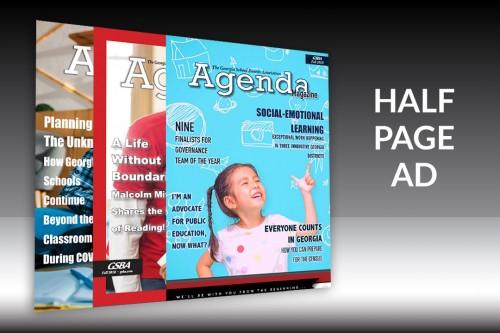 Agenda Magazine - Half Page Ad